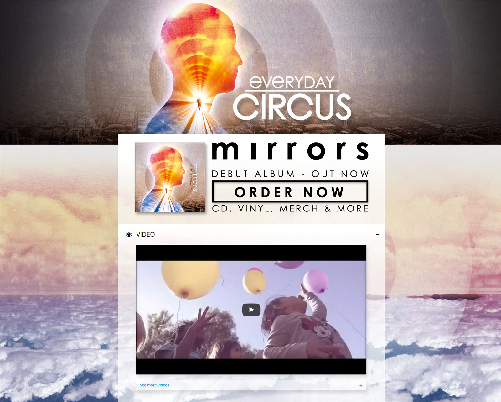 Webdesign: Everyday Circus