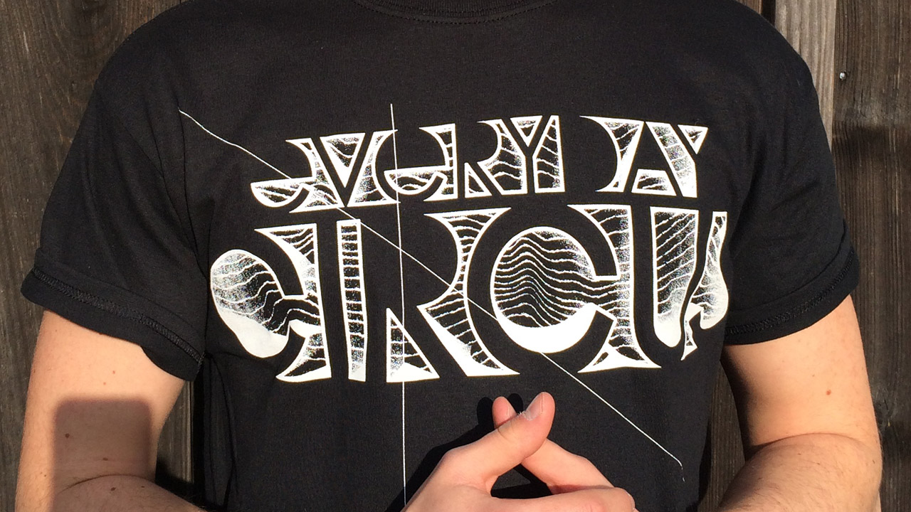 Shirtdesign: Everyday Circus 2015