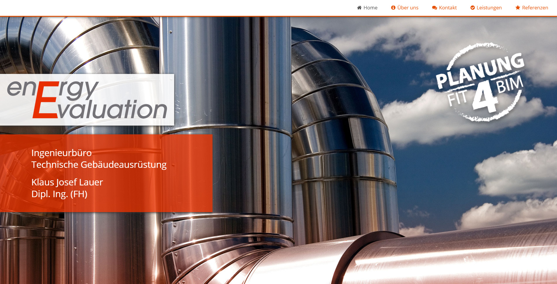 Webdesign: EnergyEvaluation